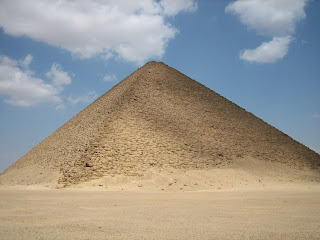 Red Pyramid of Sneferu at Dashur - own image