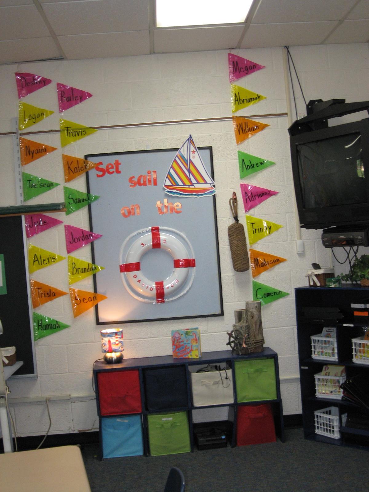 Classroom Ideas Beach Theme ~ Betwixt home and school ocean beach classroom theme