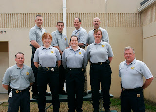The Crime Scene Investigations team from the Montgomery County Sheriff's Office.