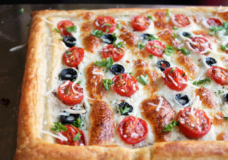 Day 13: 21 Day Detox with a Easy Tomato and Olive Tart ...
