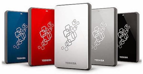 Daftar Harga Hardisk Eksternal Toshiba Terbaru 2015
