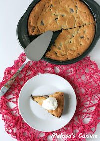 Melissa's Cuisine: Chocolate Chip Cookie Cake