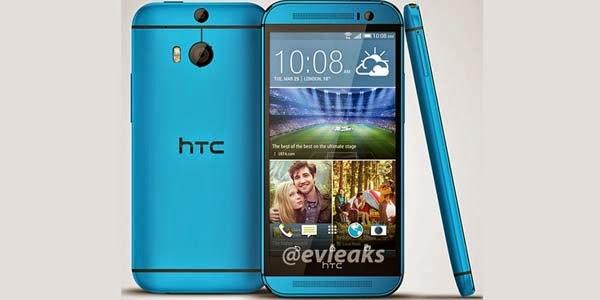 HTC One M8 Hadir dalam Balutan Warna Biru