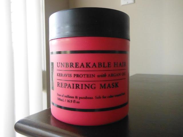 Keravis Unbreakable Hair Repairing Mask Review