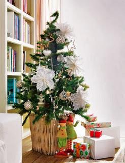 Ideas para Reutilizar Blondas en Navidad, Decoracion Ecoresponsable, II Parte