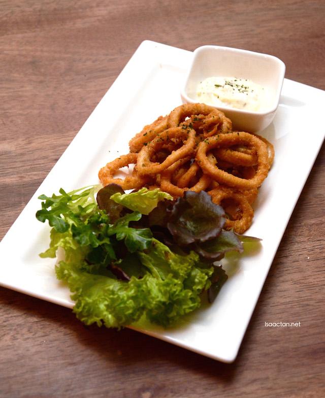 Deep Fried Squids - RM14