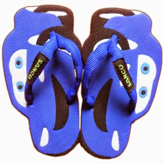 Sandal Sancu Blue Cars, sandal sancu yogyakarta