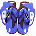 Sandal Sancu Blue cars