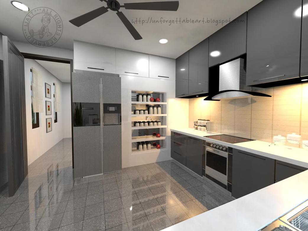 Jubin Lantai Dapur Design Rumah Terkini
