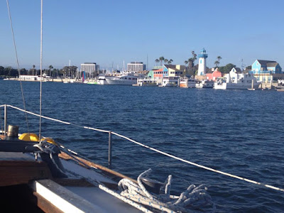 boating to marina del rey