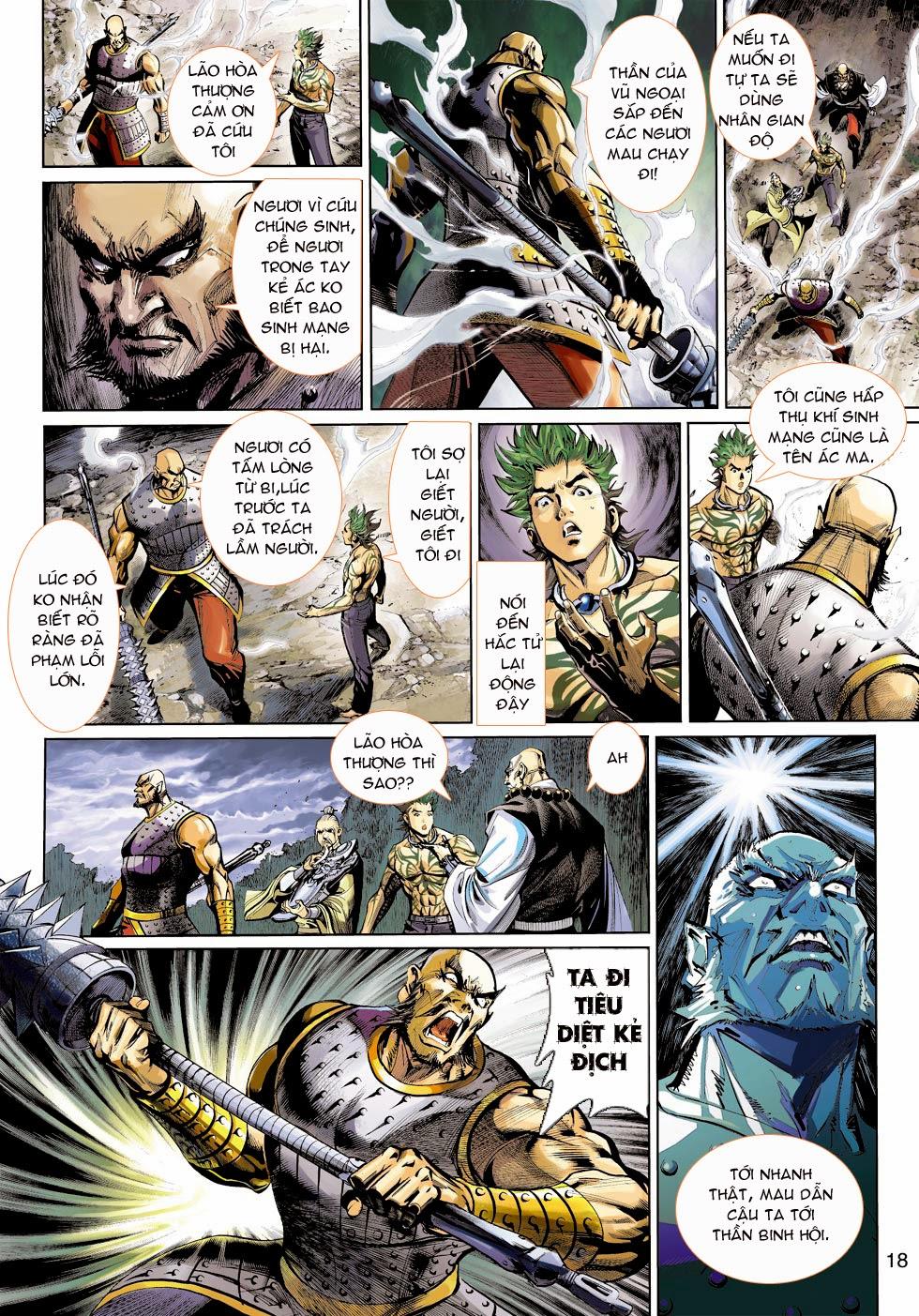 Thần Binh 4 chap 25 - Trang 20