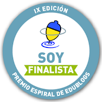 SOY FINALISTA EN ESPIRAL EDUBLOGS 2015