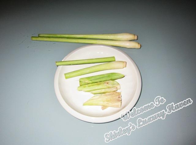 how to boil lemongrass drink