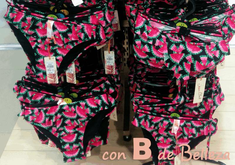 Bikini sandía barato
