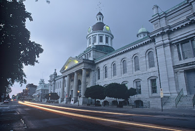 Kingston, Ontario, city hall, walking tours, history