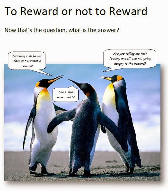 To Reward or not to Reward