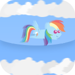 Rainbow Dash Cloud Dodging Fun