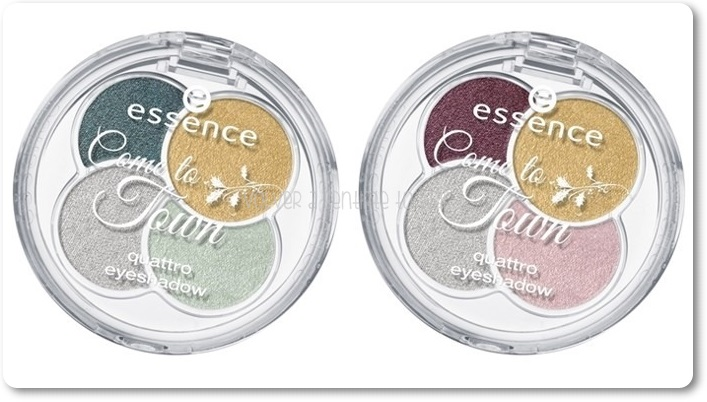 ESSENCE - Come to Twon {Noviembre 2014} - Quattro Eyeshadow
