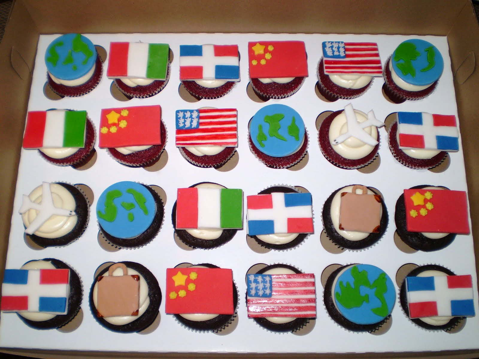 Divine Cakes By Janice Trip Around The World Theme