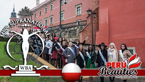 Candidatas visitan Castillo Real de Varsovia - Miss Supranational 2015