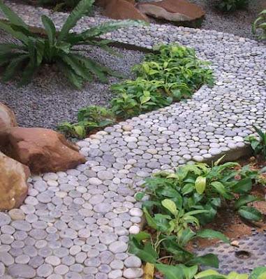 Desain Hijau nan Asri Taman di Lahan Sempit