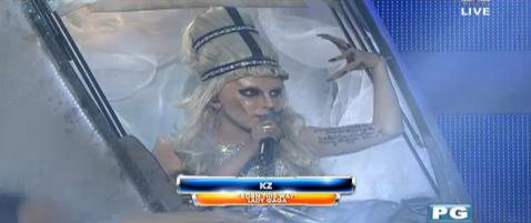 YFSF - KZ Tandingan as Lady Gaga