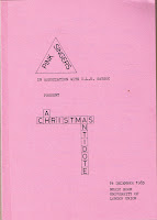 Programme for Pink Singers Xmas Antidote, 1983