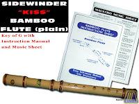 SIDEWINDER BAMBOO FLUTE KEY OF G