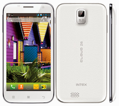 Intex Cloud Z6 Price In India