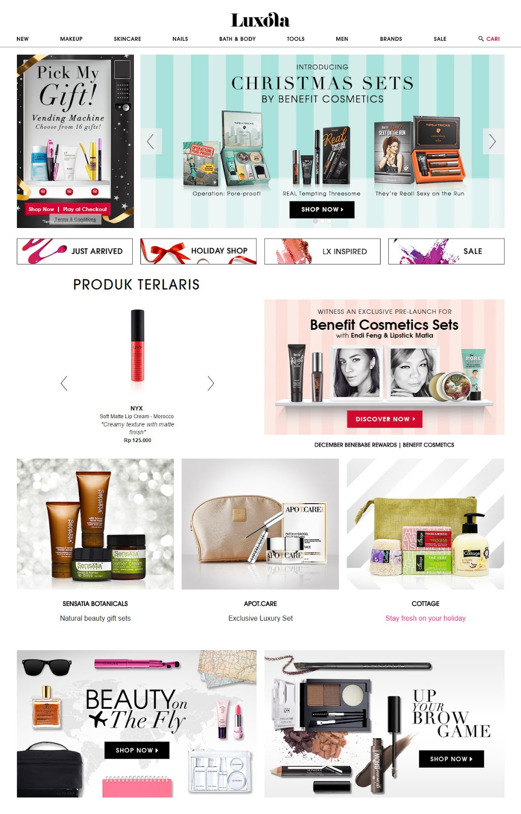 luxola onlineshop makeup