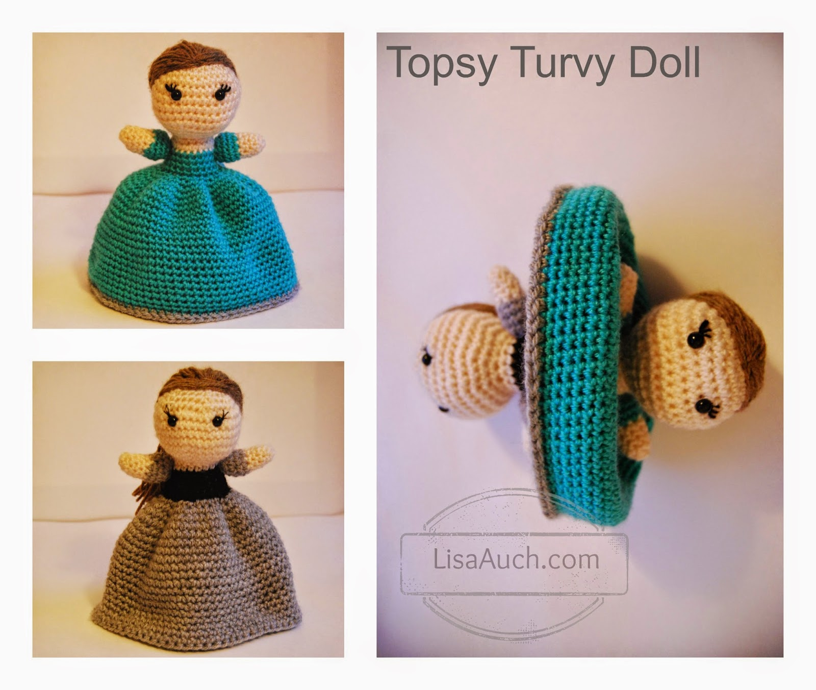 free topsy turvy crochet doll pattern