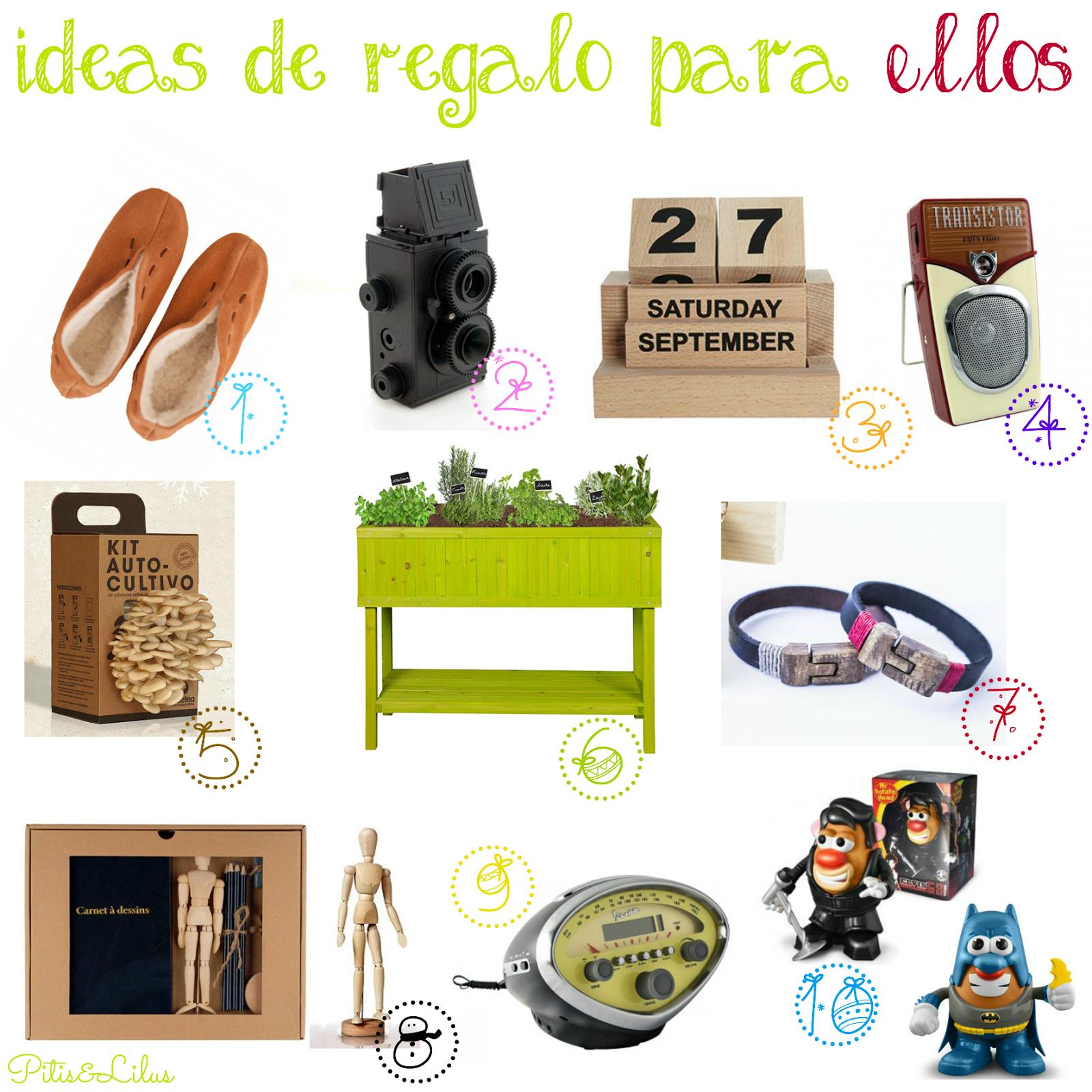 Pitis and lilus diciembre 2014 for Regalos muy originales para hombres