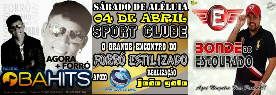 SÁBADO DE ALELÚIA NOS SPORT CLUBE