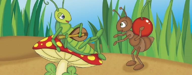 fabula la cigarra y la hormiga: