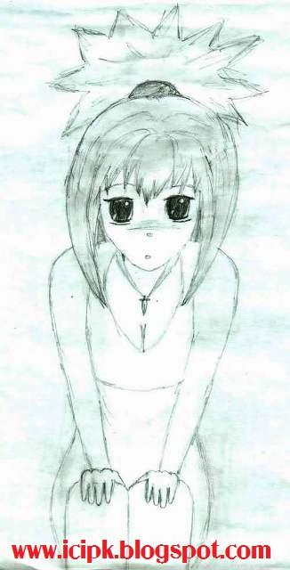 sad-little-girl-drawing, | http://icipk.blogspot.com
