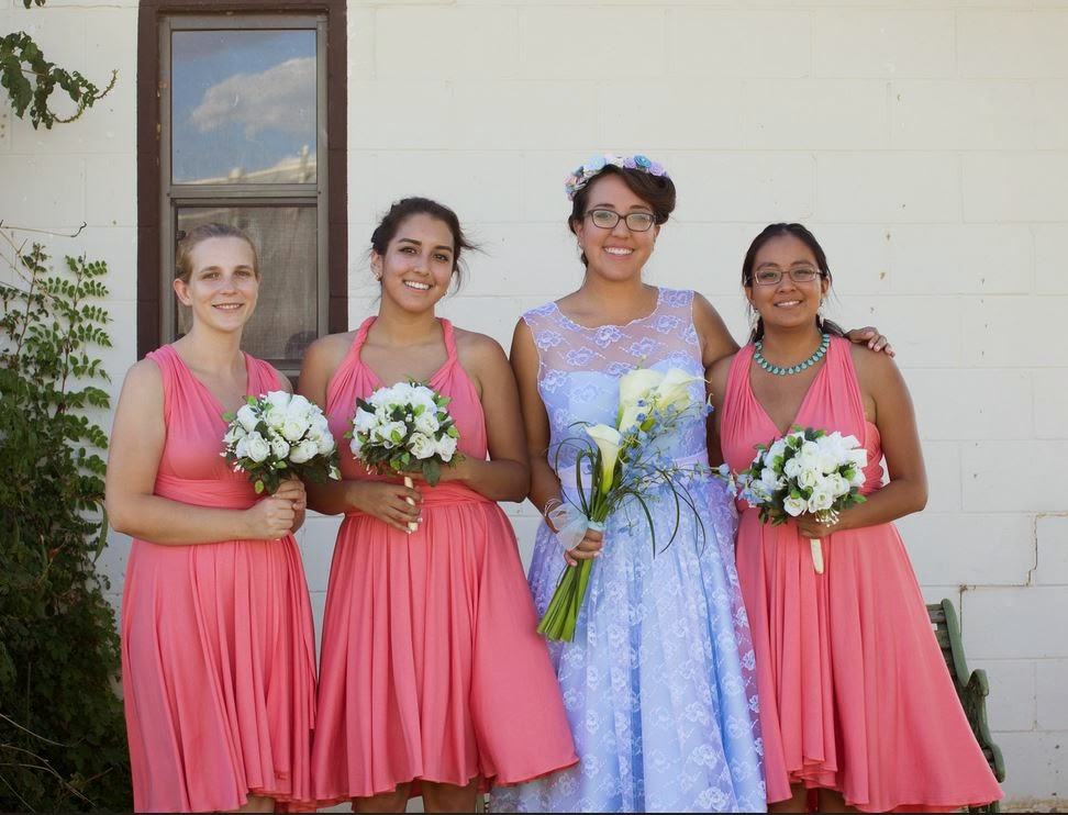 infinity dress bridesmaids