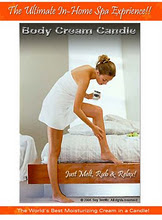 Body Cream Candle