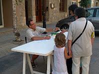 Inscripcions al carrer Major de Collsuspina