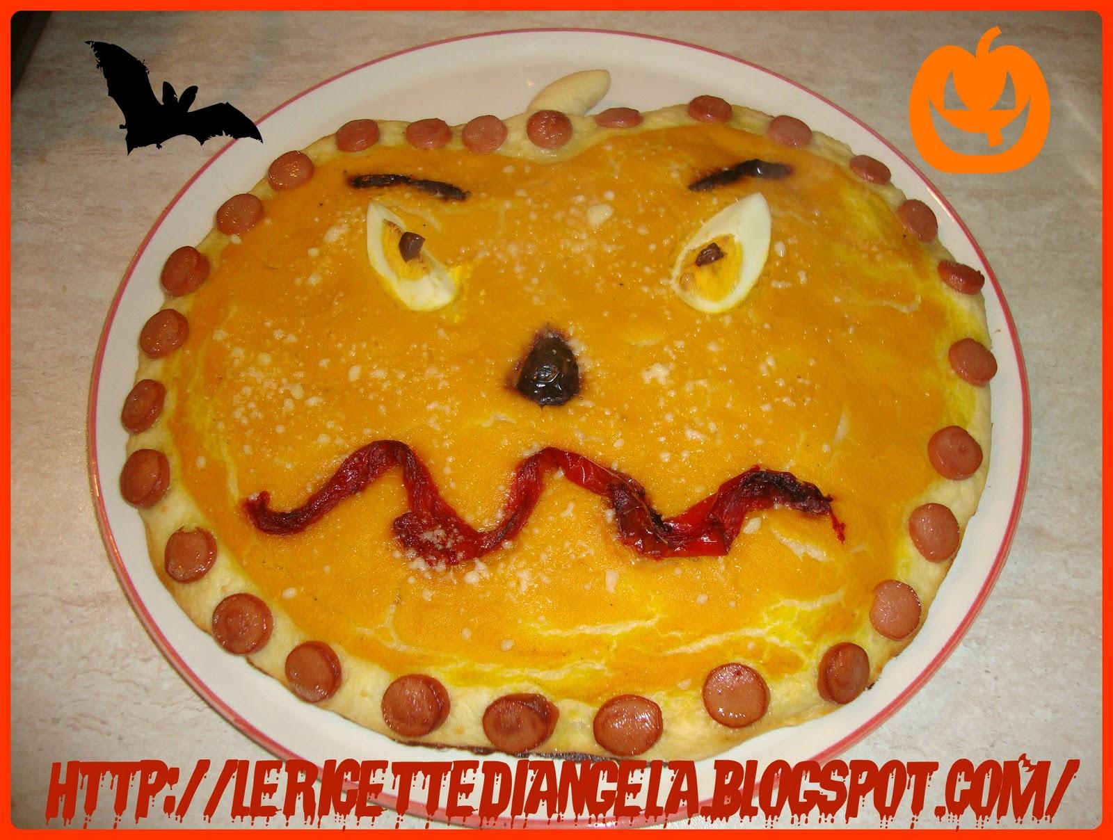 La cucina di Angela: Pizze di Halloween