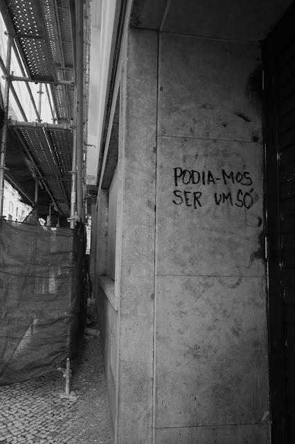 """""""Podia-mos ser um só"""" - Lisboa, 2016 © Pedro Filipe Godinho"""