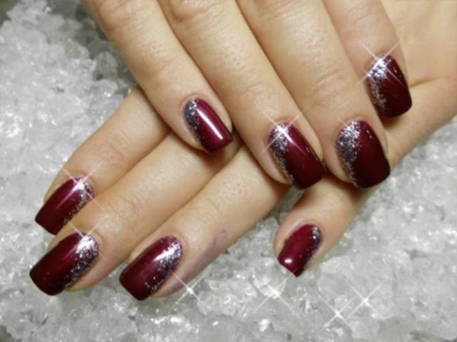New And Stylish Nail Art Design 2016 Polish For Bridal