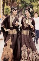 Trend Fashion Busana Batik Muslim Modern 2015