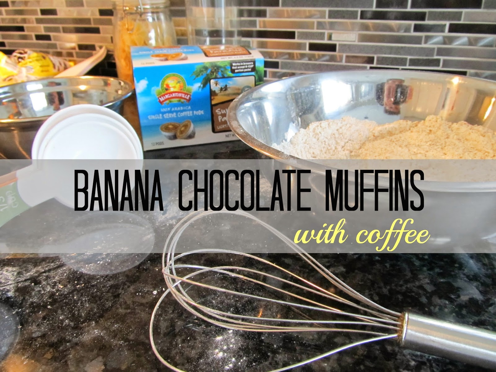 Banana Chocolate Muffins with Single Jo Coffee Recipe