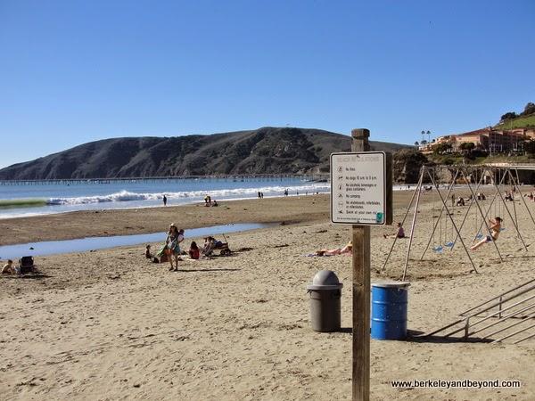 beach playground in Avila Beach, California