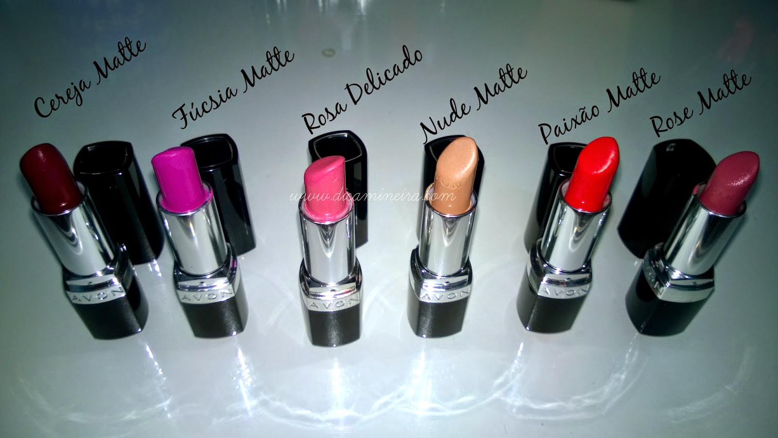 Meus Batons Ultra Color Lipstick