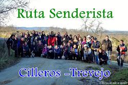RUTA SENDERISTA CILLEROS-TREVEJO