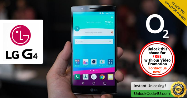 Factory Unlock Code LG G4 from O2