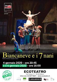 BIANCANEVE E I SETTE NANI IN ECOTEATRO
