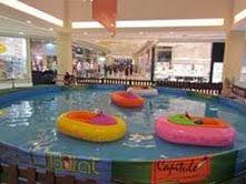Ecoboat é a mais nova atração para as crianças no Shopping Grande Rio
