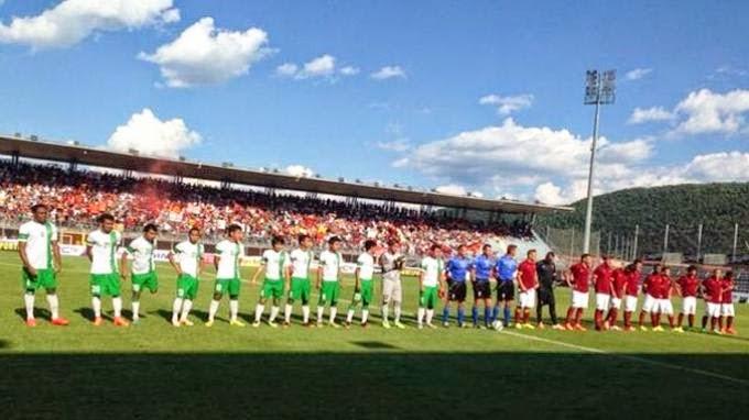 Hasil Skor Akhir: Cagliari vs Timnas U-23 (Indonesia Tur Italia) 23 Juli 2014